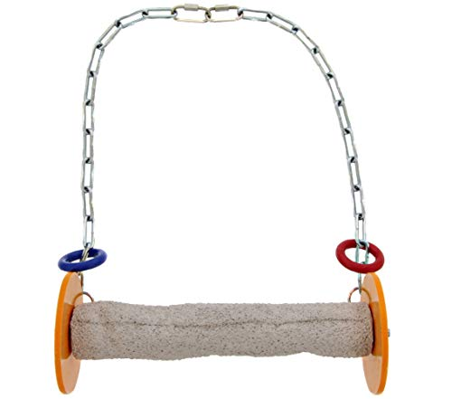 (Sweet Feet and Beak Roll Swing and Perch for Birds, Keeps Nails and Beak in Top Condition and Stimulate Leg Muscles - Safe and Non-Toxic, for)