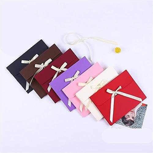 - 20 Pieces Exquisite Scarf Box/Silk Square Gift Box/Creative Color Envelope Gift Box
