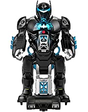 Fisher-Price Imaginext DC Super Friends Bat-Tech Batbot, Transforming 2-in-1 Batman Robot and Playset with Lights and Sounds for Kids Ages 3-8