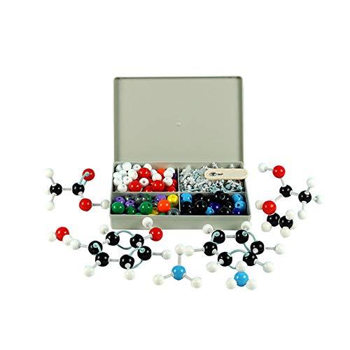 bromrefulgenc Molecular Model,240Pcs Organic Chemistry Molecular Model Student Teacher Kit Educational Science Experiment Intelligence Toy for Teens