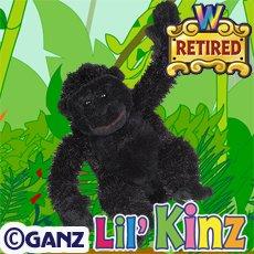Webkinz Gorilla Li'l Kinz By Ganz