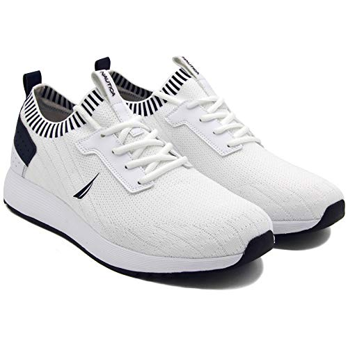 Nautica Men's Lace-Up Casual Fashion Sneakers-Walking Shoes-Lightweight Joggers