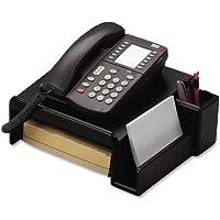 ROL62538 - Rolodex Wood Tones Phone Center Desk Stand