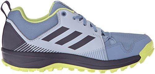 adidas outdoor Women's Terrex Tracerocker W Trail Running Shoe, Aero Blue/Trace Purple/Semi Frozen Yellow, 8 M US by adidas outdoor (Image #6)