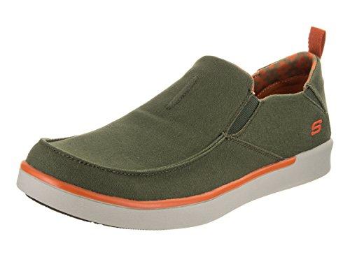 skechers-mens-boyar-lented-olive-casual-shoe-115-men-us