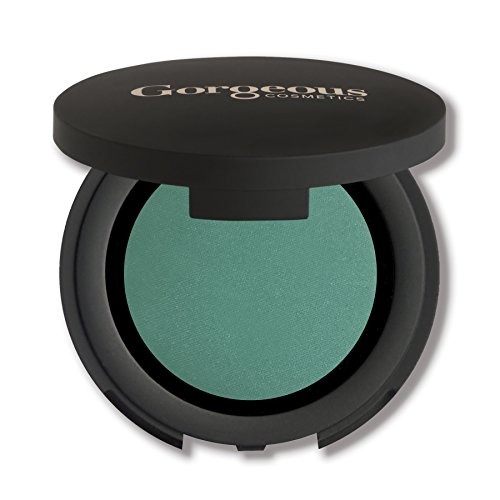 Gorgeous Cosmetics Colour Pro Eyeshadow, Pressed Powder, High Pigment Eyeshadow, Single in Compact with Mirror,  Shade Leprechaun]()