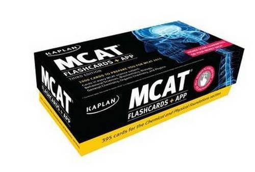 Kaplan MCAT Flashcards + App (Kaplan Test Prep) by Kaplan