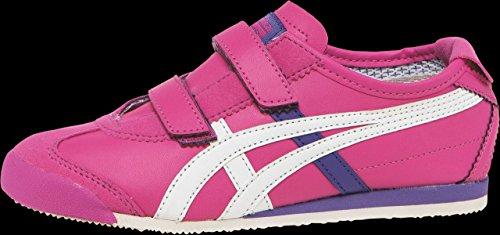 Onitsuka Tiger nữ bán chạy tại Mỹ/ Nữ onitsuka tiger mexico 66 baja ps running shoe (toddler/little kid),magenta/white,3 m us little kid