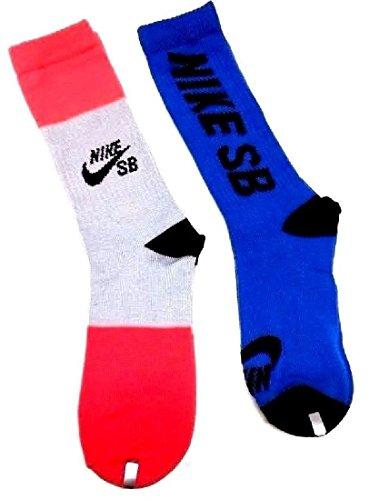 Nike SB 2-Pack Crew Socks Boys Youth 5Y-7Y//9-11