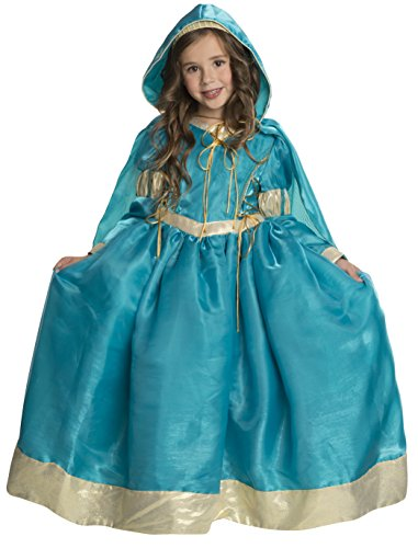 Rubie's Deluxe Princess Emma Costume, Teal, Small