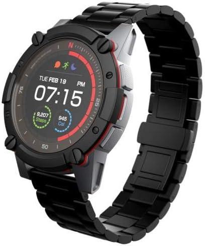 PowerWatch 2 Premium Edition - Reloj inteligente, Reloj Deportivo, Carga Solar/Termoeléctrico, Control de Rendimiento, Medición de Temperatura Corporal, GPS y Altitud, iOS y Android