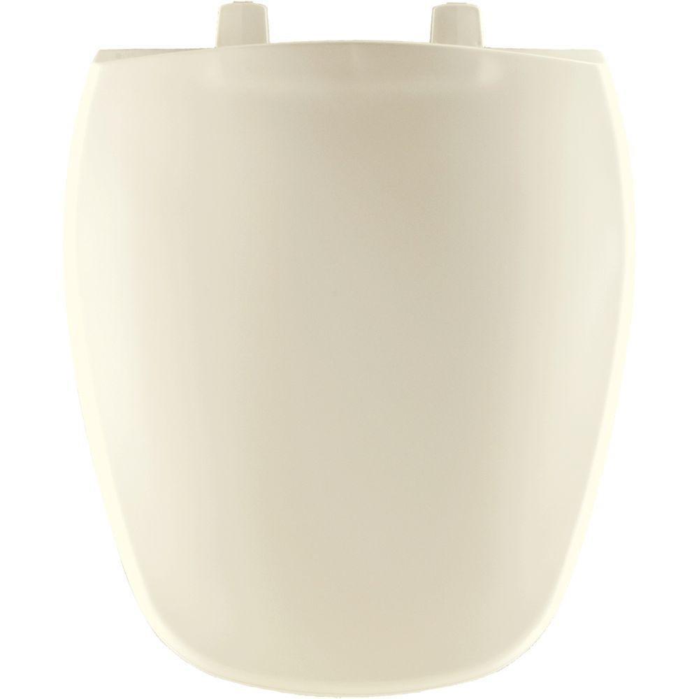 Bemis 1240200346 Eljer Emblem Plastic Round Toilet Seat Biscuit/Linen    Bemis Biscuit Toilet Seat Square   Amazon.com