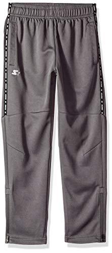 (Starter Boys' Soccer Pants, Amazon Exclusive, Iron Grey, S)