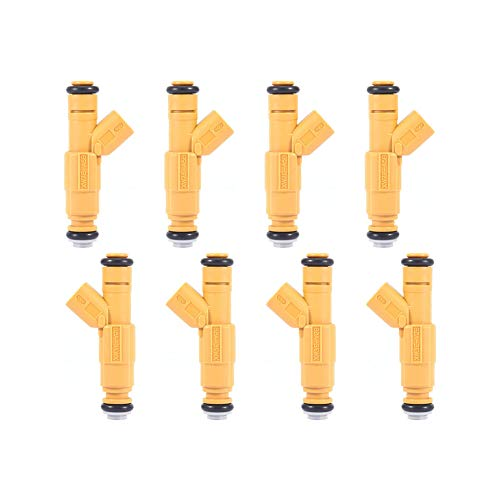 TOHUU 0280155857 8Pcs Fuel Injectors For 99-01 Ford Lincoln Mercury 4.6L V8
