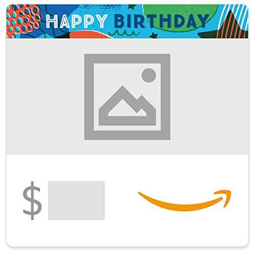 Amazon eGift Card - Birthday Stars (Your Upload)