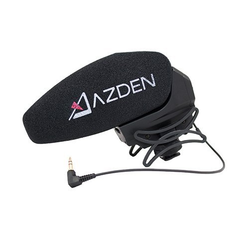 Azden SMX-30 Stereo/Mono Switchable Video Microphone by Azden