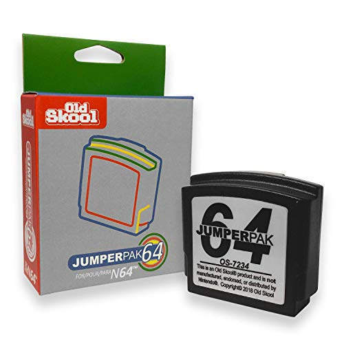 Old Skool Nintendo 64 Jumper Pack (Booster Pak) for sale  Delivered anywhere in USA