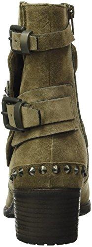 Scarponi Kasala E Schmenger Manufactory Ladies Ambra Short Boots Brown (tundra / Gunmetal 445)