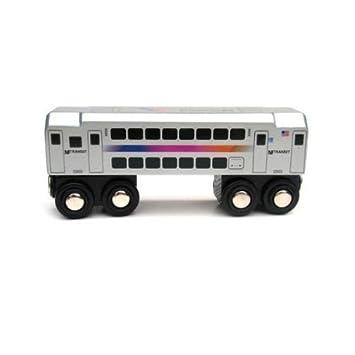 Nj Transit Multi Level Commuter Passenger Car Toys
