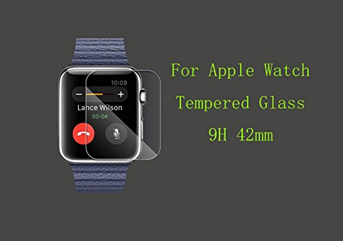 42mm Screen Protector for Apple Watch iWatch, YaSaShe 0.2mm 2.5D Tempered Glass Film Photo #4