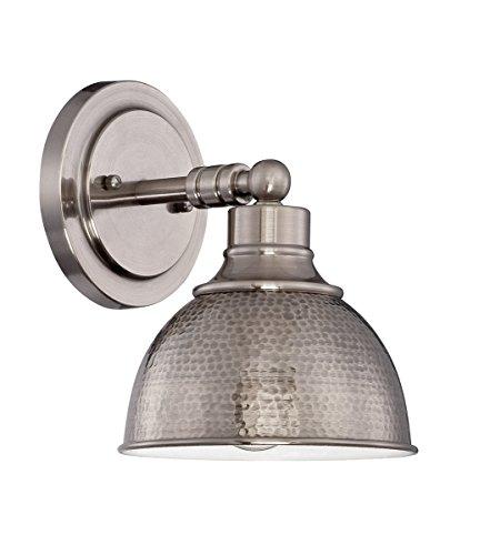 Craftmade Lighting 35901-AN Timarron - One Light Wall Sconce, Antique Nickel Finish Dark Antique Nickel Finish