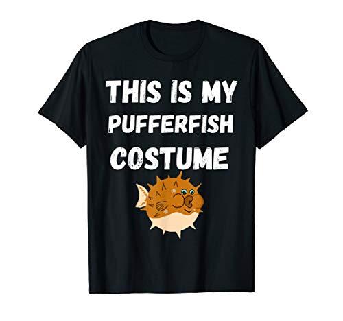 This Is My Pufferfish Costume Blowfish Balloonfish T-Shirt