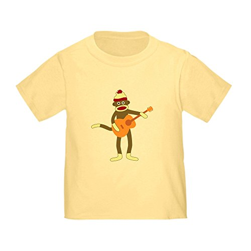 CafePress Monkey Acoustic Toddler T Shirt