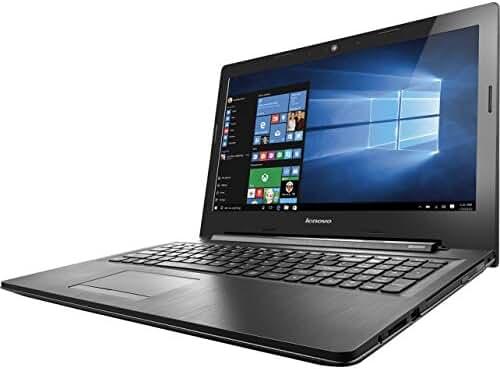 Lenovo IdeaPad 15.6 Inch HD Laptop (Intel Dual-Core Celeron N3060 1.6 GHz Processor, 4GB RAM, 500GB HDD, DVD RW, Bluetooth, Webcam, WiFi, HDMI, Windows 10) Black