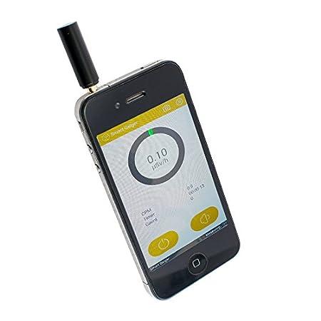 Denshine Smart Medidor de Radiación Contador Gamma nuclear X-ray for iOS Android medición preliminar sencillo: Amazon.es: Salud y cuidado personal