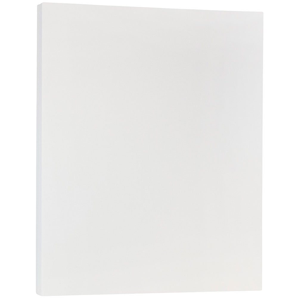 JAM PAPER Translucent Vellum 28lb Paper - 8.5 x 11 - Clear - 100 Sheets/Pack by JAM Paper