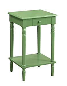 Convenience Concepts French Country End Table, Green