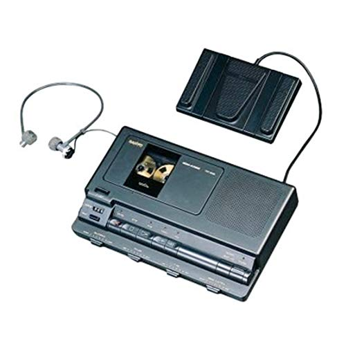 (Sanyo TRC8080 Analog Standard Cassette Transcriber w/Microprocessor by Sanyo)
