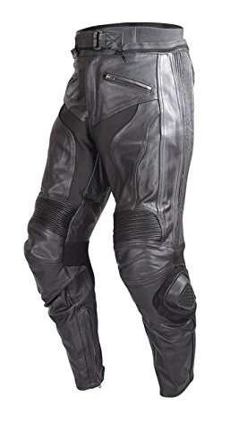 Leather Motorcycle Pants For Men - 8