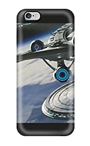 Awesome Uss Enterprise Star Trek 2009 Flip Case With Fashion Design For Iphone 6 Plus