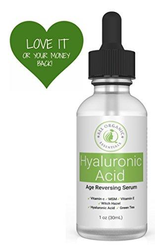 All Organic Essentials Hyaluronic Vitamin