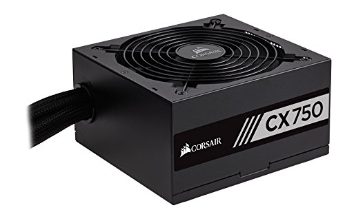 Corsair CX Series 750 Watt (2017) 80 Plus Bronze Certified Non-Modular Power Supply (CP-9020123-NA)