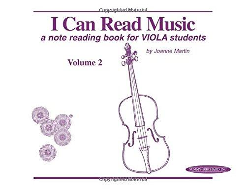 I Can Read Music, Vol 2: Viola