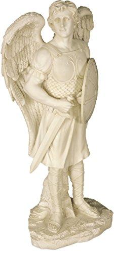 - AngelStar Archangel Michael Garden Angel Statue, 24 Inches High, 12204