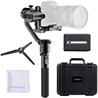 MOZA AirCross 3-Axis Handheld Gimbal Ultra-lightweight Portable Stabilizer Support Unlimited Power Source Long-exposure Timelapse Auto-Tuning for Parameters For Mirrorless Cameras up to 1800g/3.9lb