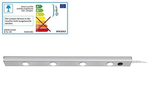 De Luces LED (Livarno Lux 4 Power de ledes con muy alta intensidad de la luz: Amazon.es: Iluminación