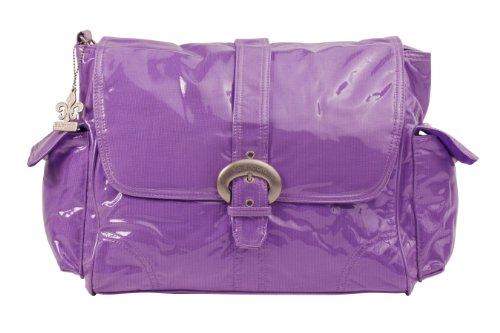 Bag Avocado Diaper - Kalencom Laminated Buckle Bag, Grape Corduroy