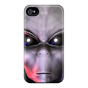 For Iphone Cases, High Quality 3d Alien Face For Iphone 6 Covers Cases