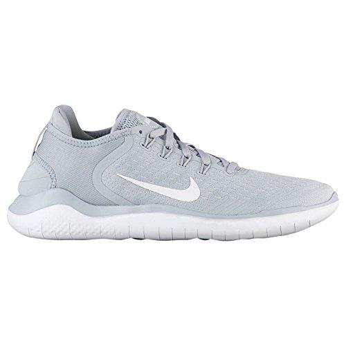 Scarpe Da Corsa Nike Free Rn 2018 Uomo Grigio (lupo Grigio / Bianco-volt 003)
