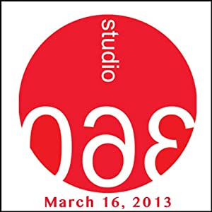 Studio 360: Edie Falco & Charles Krafft Responds Radio/TV Program