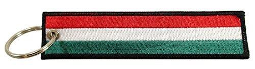 Bandera de Hungría clave Cadena, 100% bordado