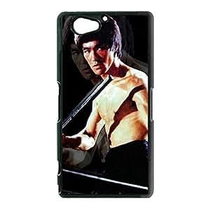 Aggressive Bruce Lee Phone Case Cover for Sony Xperia Z2 Compact Mini Bruce Lee Unusual Design