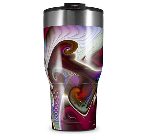 Skin Wrap Decal for New 2017 RTIC Tumblers 30oz Racer (TUMBLER NOT INCLUDED) -