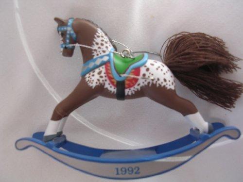 Hallmark Keepsake Ornament ; Rocking Horse 1992 Collectible QX426-1