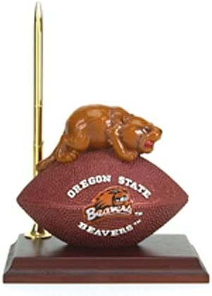 Oregon State Beavers Mascot Football Clock Pen