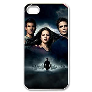 C-EUR Customized Print The Twilight Saga Pattern Back Case for iPhone 4/4S
